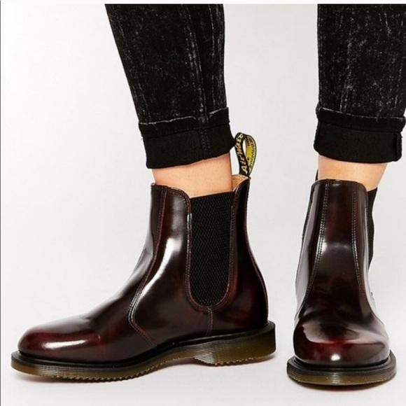 goed uit x promotiecode online te koop Dr. Martens flora cherry red boots
